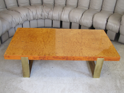 Table basse ann es 70 for Table basse en orme