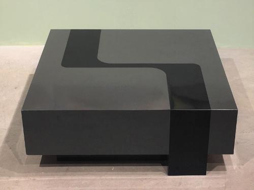 Table basse, design Pierre Cardin