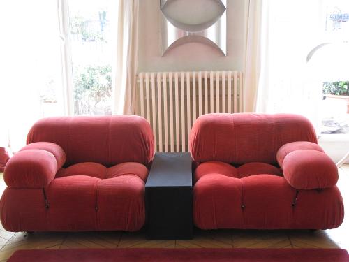 Ensemble Cameleonda, design Mario Bellini,
